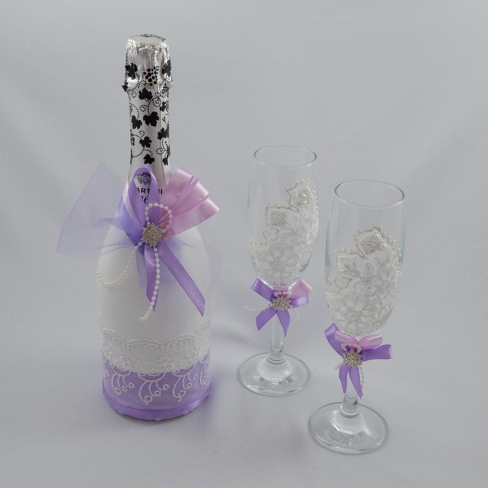 Шампанское жених и невеста на свадьбу своими руками